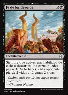 Fe de los devotos - Faith of the Devoted (Foil)